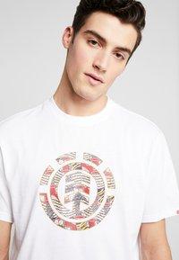 Element - ORIGINS ICON - T-shirts print - optic white - 5