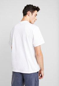 Element - ORIGINS ICON - T-shirts print - optic white - 2