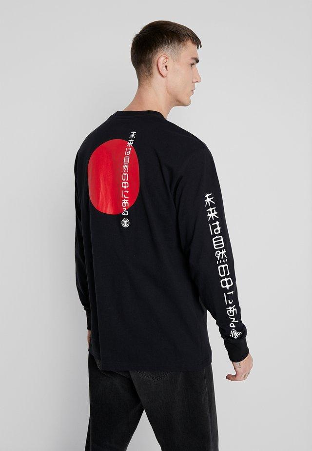 TAKASHI  - Bluzka z długim rękawem - flint black