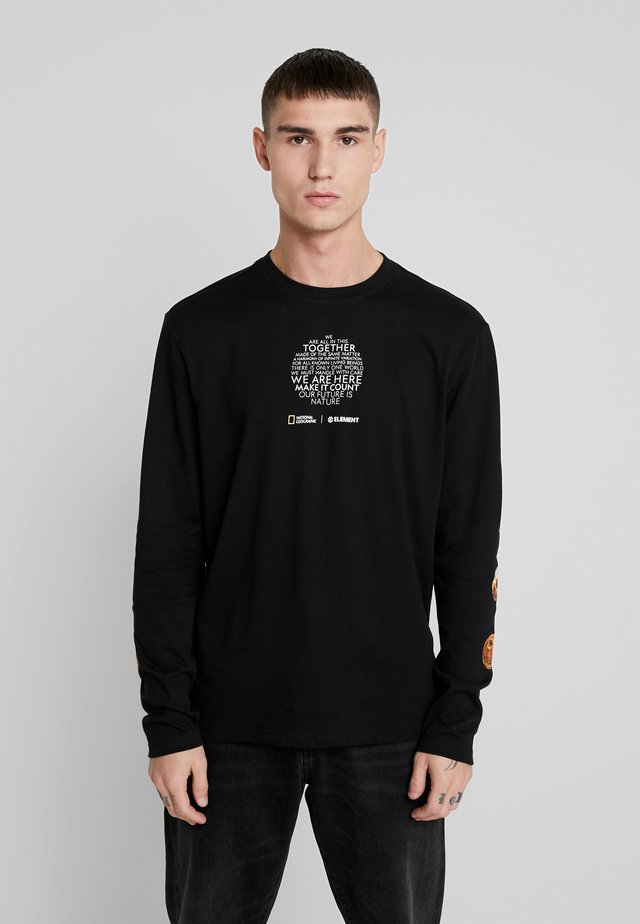 NATIONALGEOGRAPHIC  OPTICAL - Long sleeved top - flint black