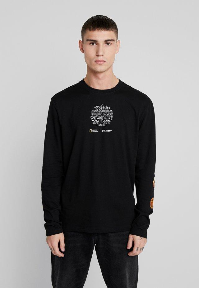 NATIONALGEOGRAPHIC  OPTICAL - Långärmad tröja - flint black