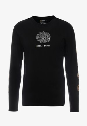 NATIONALGEOGRAPHIC  OPTICAL - Maglietta a manica lunga - flint black