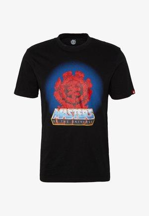MASTERS OF THE UNIVERSE LAVA ROCKS - T-shirts print - black