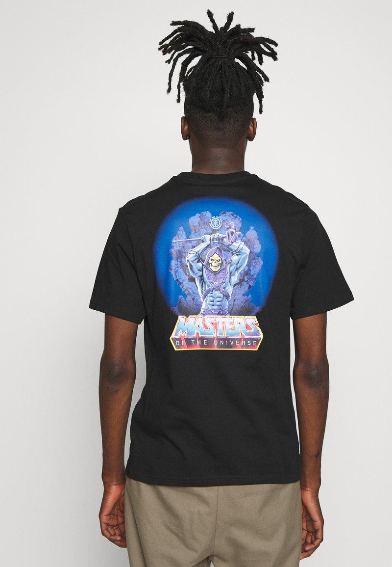 Element - MASTERS OF THE UNIVERSE  SKELETOR - T-shirts print - black