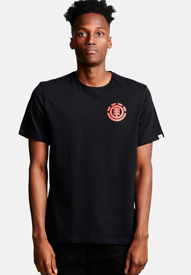 UNISON - Print T-shirt - flint black