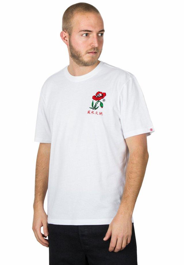REIKO - Print T-shirt - white
