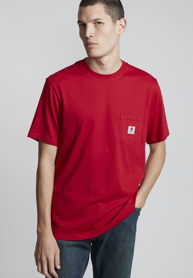 T-shirt basic - chili pepper