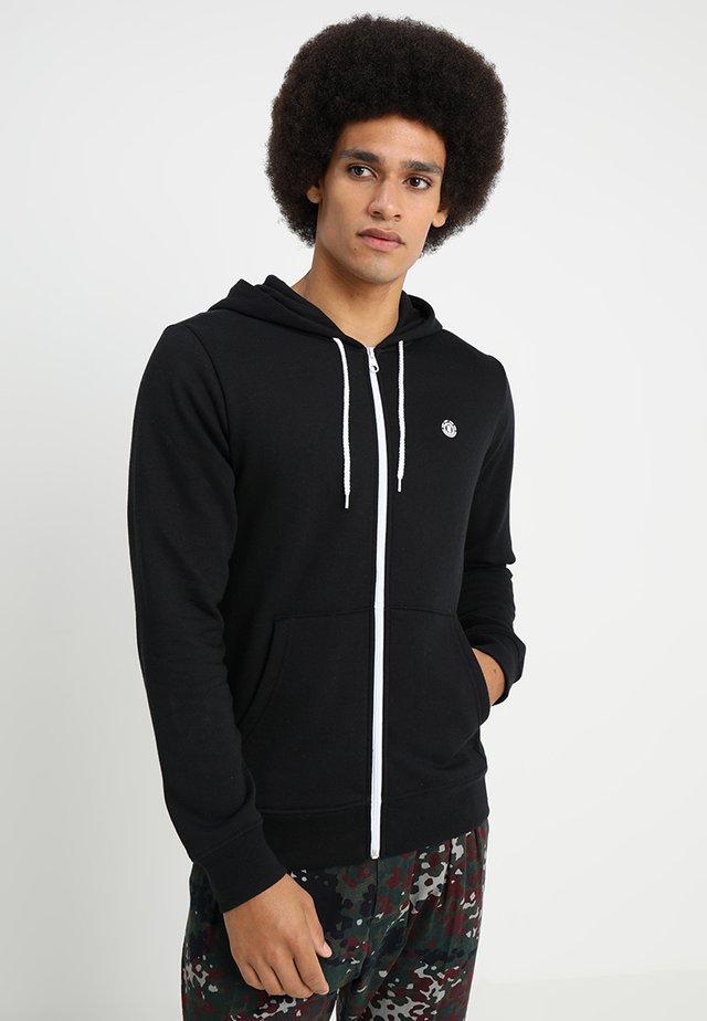 CORNELL CLASSIC - Bluza z kapturem - flint black