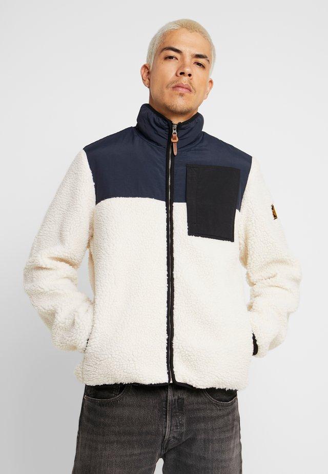 ABENAKI WARM ZIP - Light jacket - white smoke