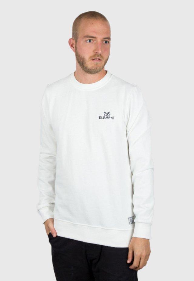 Sweatshirt - black/white