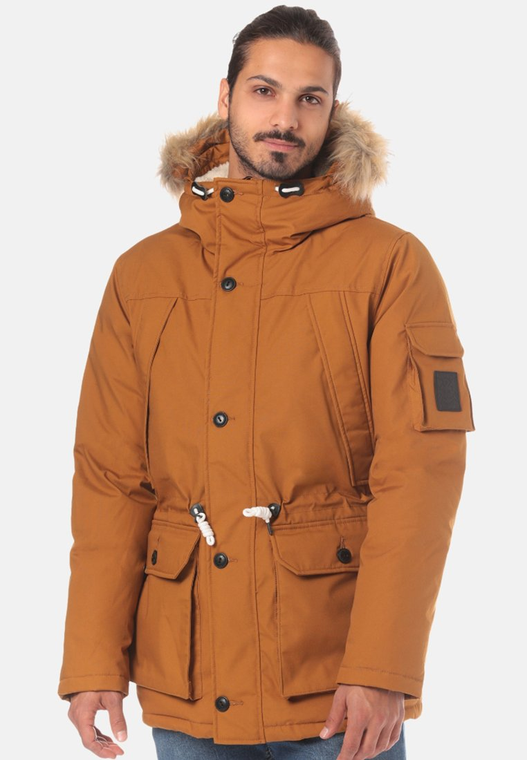 Element - Wintermantel - brown