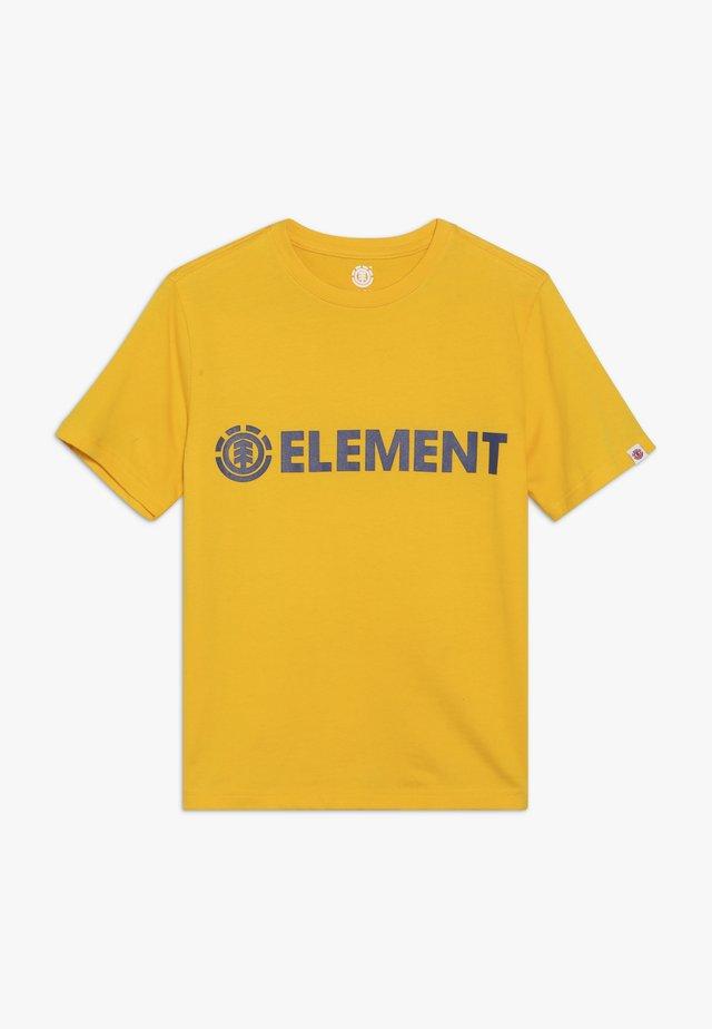 BLAZIN BOY - T-shirts print - yellow