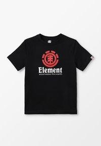 Element - VERTICAL BOY - Printtipaita - flint black - 0