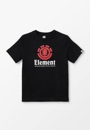 VERTICAL BOY - T-shirt z nadrukiem - flint black