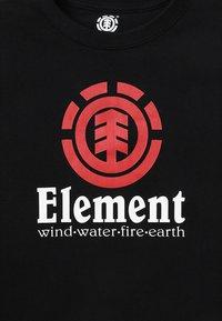 Element - VERTICAL BOY - Printtipaita - flint black - 4