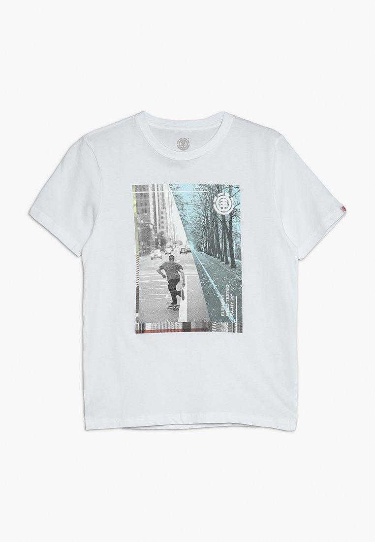 Element - AVENUE BOY - T-shirts print - optic white