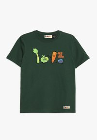 Element - YOU ARE WHAT YOU DRINK FRUITSQUAD  - T-shirt imprimé - dark green - 0