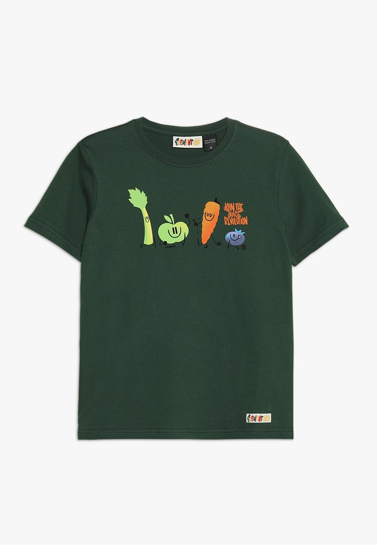 Element - YOU ARE WHAT YOU DRINK FRUITSQUAD  - T-shirt imprimé - dark green