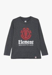 Element - VERTICAL BOY - Pitkähihainen paita - charcoal heather - 0