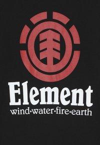 Element - VERTICAL BOY - T-shirt à manches longues - flint black - 3