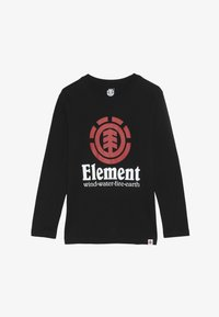 Element - VERTICAL BOY - T-shirt à manches longues - flint black - 2