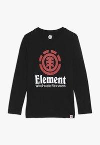 Element - VERTICAL BOY - T-shirt à manches longues - flint black - 0
