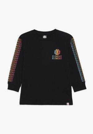 DROP BOY - T-shirt à manches longues - flint black