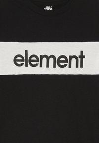 Element - PRIMO FLAG BOY - Printtipaita - flint black - 3