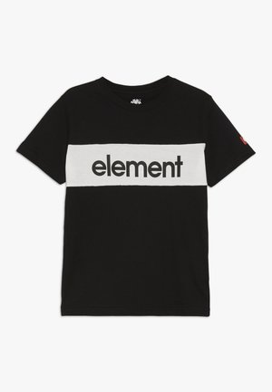 PRIMO FLAG BOY - T-shirt z nadrukiem - flint black