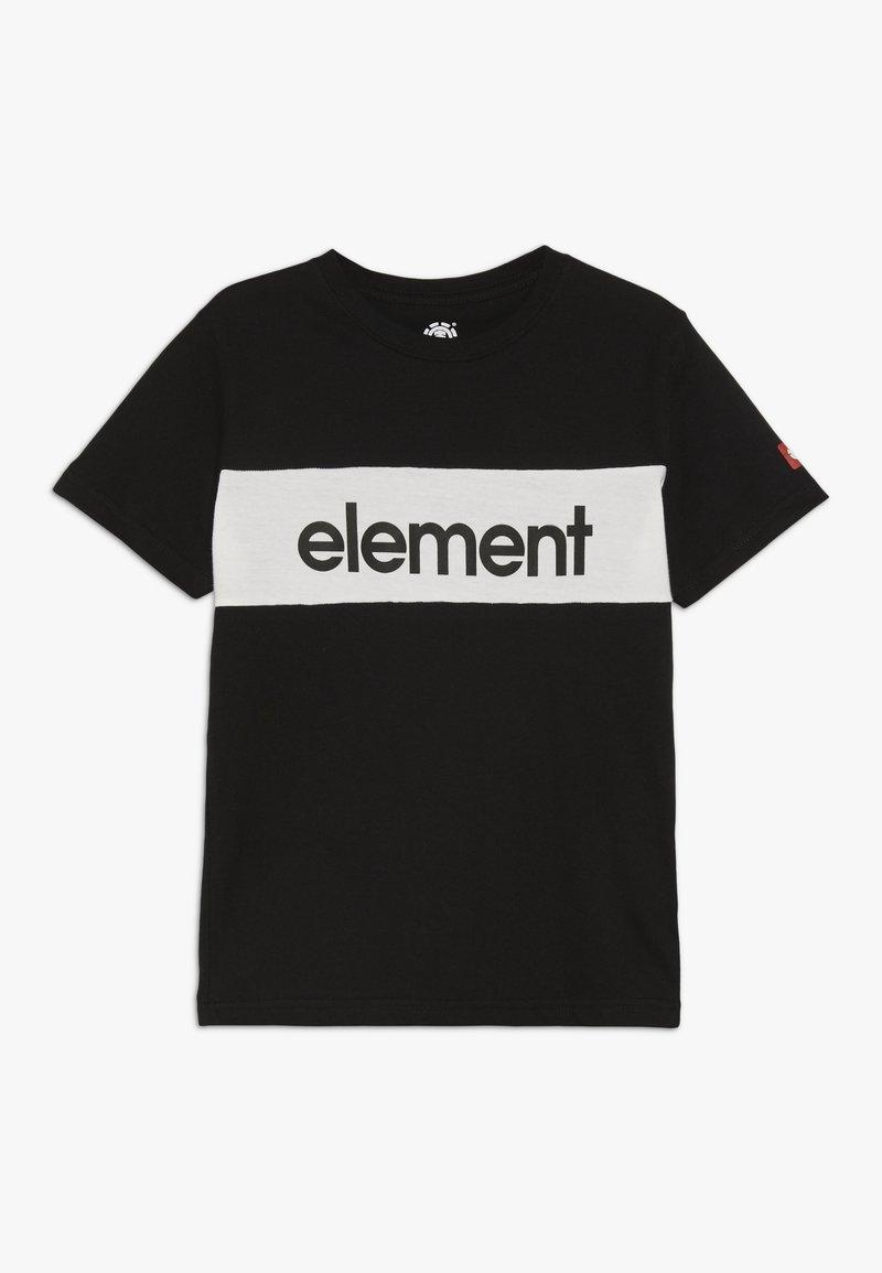 Element - PRIMO FLAG BOY - Printtipaita - flint black