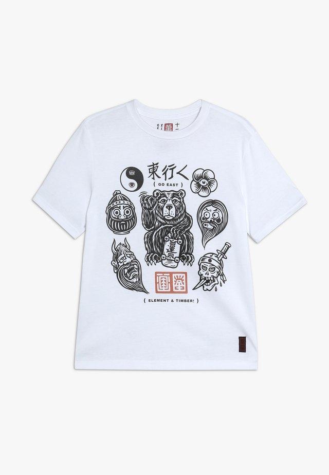 FLASH BOY - T-shirts print - optic white