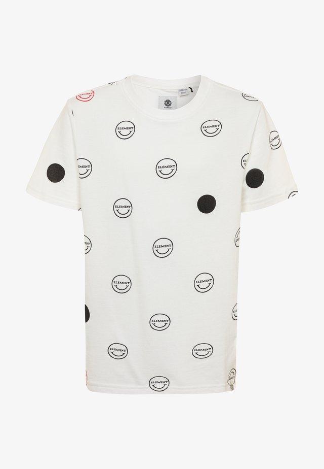 CALVIN BOY - T-shirt med print - offwhite