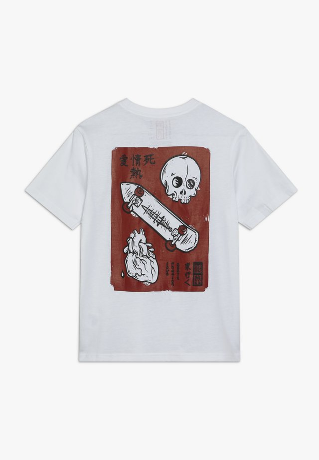 LOVE PASSION DEATH  - T-shirts med print - optic white