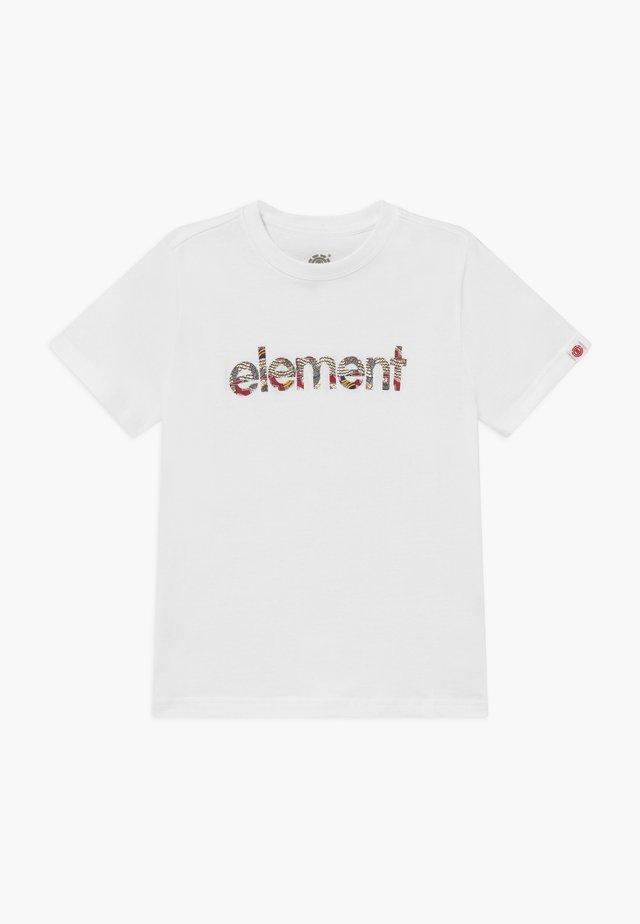 ORIGINS BOY - T-shirt med print - optic white