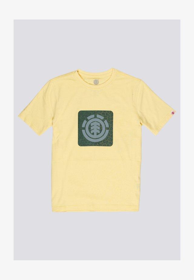 T-shirt print - popcorn
