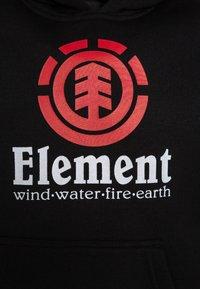 Element - VERTICAL HOOD BOY - Hættetrøjer - flint black - 2