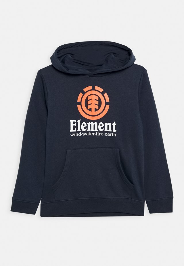 VERTICAL HOOD BOY - Kapuzenpullover - eclipse navy