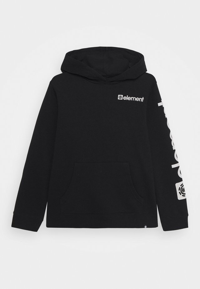 JOINT HOOD BOY - Kapuzenpullover - flint black