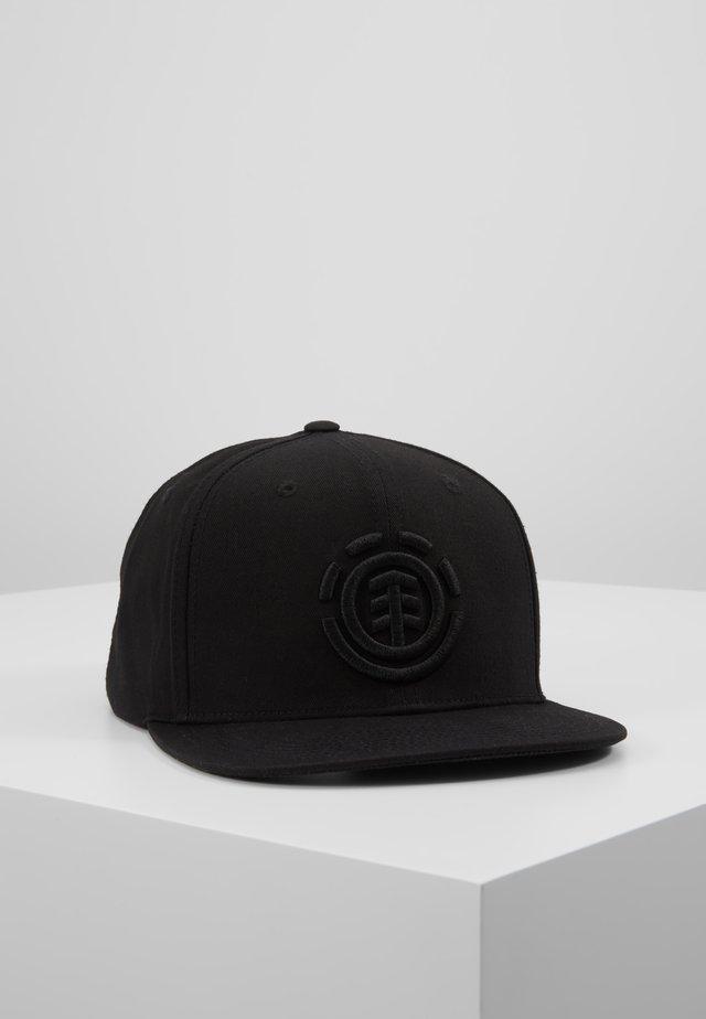 KNUTSEN  - Cap - flint black