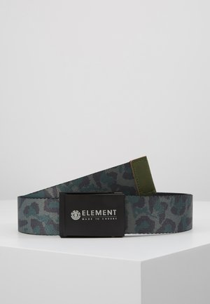 FIGURE BELT - Belt - dark green