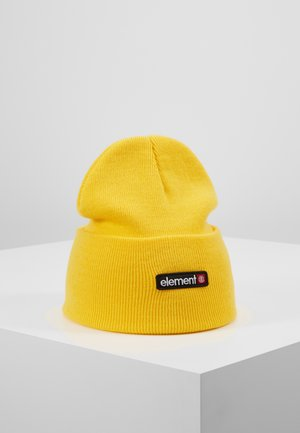 PRIMO DUSK BEANIE - Beanie - bright yellow
