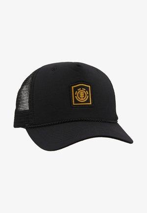 WOLFEBORO TRUCKER - Cap - flint black