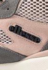 Ellesse - AURANO MID - Zapatillas altas - dark grey/dark pink/black