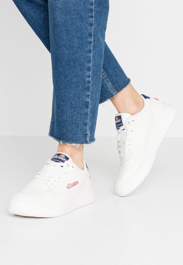 VARESSE - Sneakersy niskie - white/dark blue
