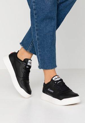 VARESSE - Sneakers laag - black/white