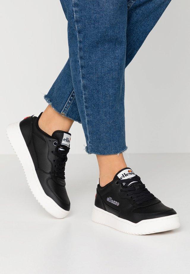VARESSE - Sneakersy niskie - black/white