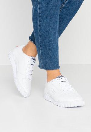 TANKER - Sneakers basse - white/dark blue