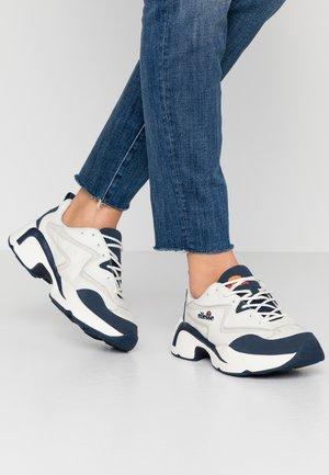 INDUS - Sneakers basse - offwhite/dark blue