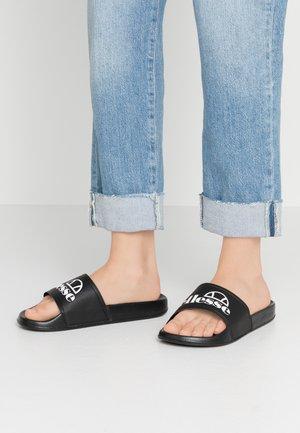FILIPPO - Sandály do bazénu - black