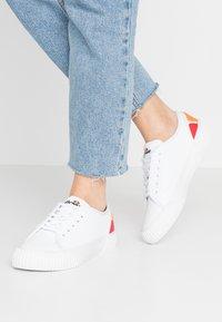 Ellesse - TROPEA - Sneakersy niskie - white - 0